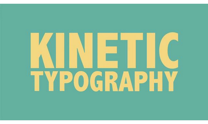 kinetic typography lyric video intermediate service. Black Bedroom Furniture Sets. Home Design Ideas