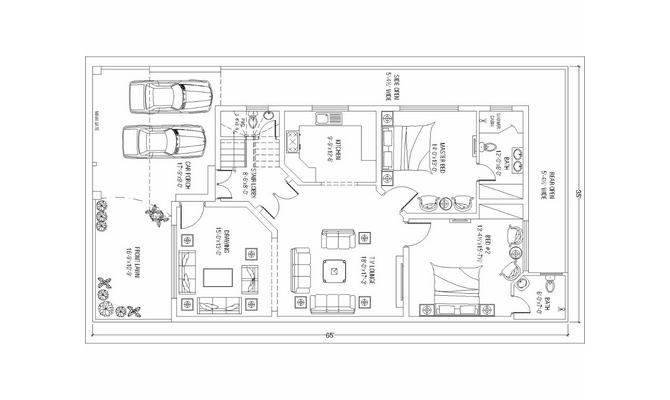 Deliver A 2d Floor Plan Using Autocad Service