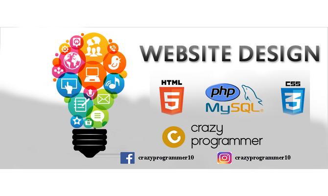 be your Web designer