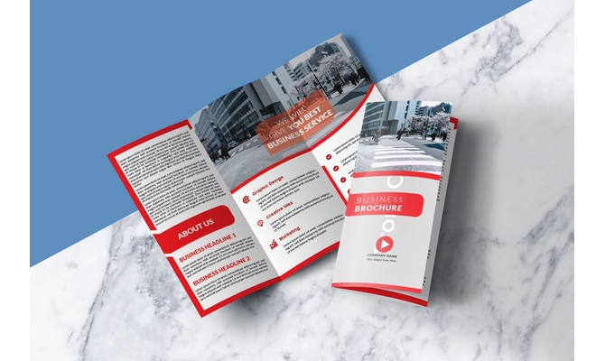 design outstanding brochure with unlimited revisions