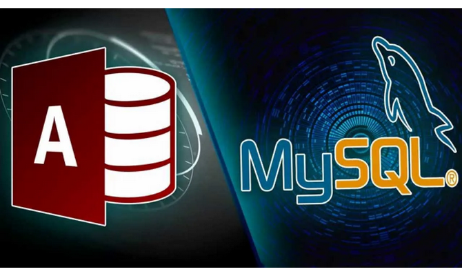 create MS Access and MySQL database for you