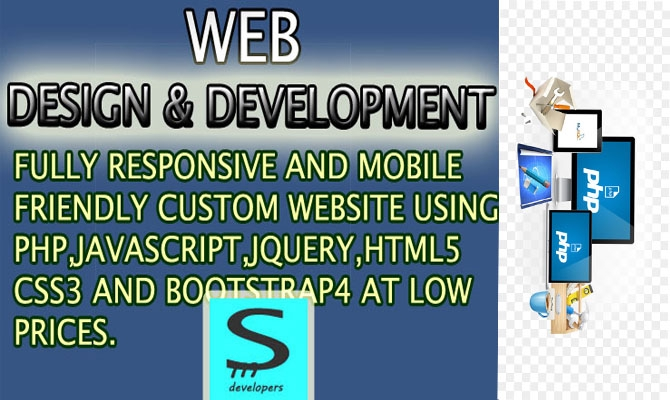 build fully responsive and mobile friendly website at low cost