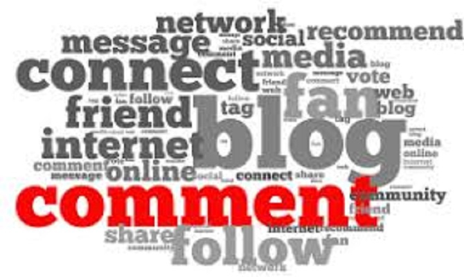 post 90 comments on different blogs to link to your site.