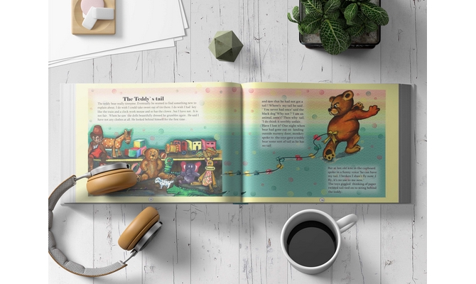 create children book illustration