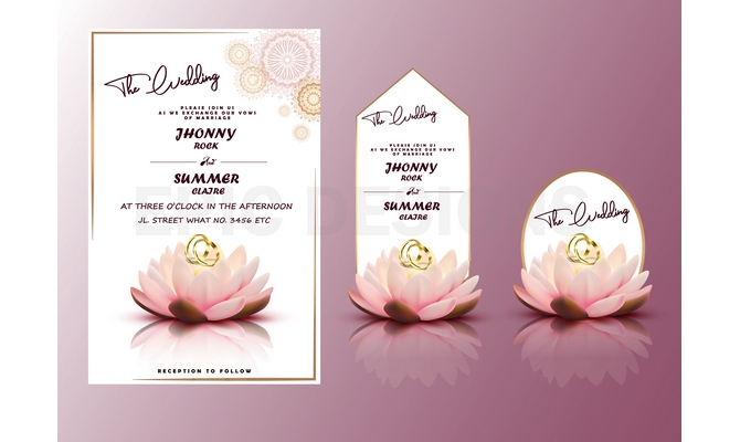 Design Beautiful Wedding And Birthday Invitations For You
