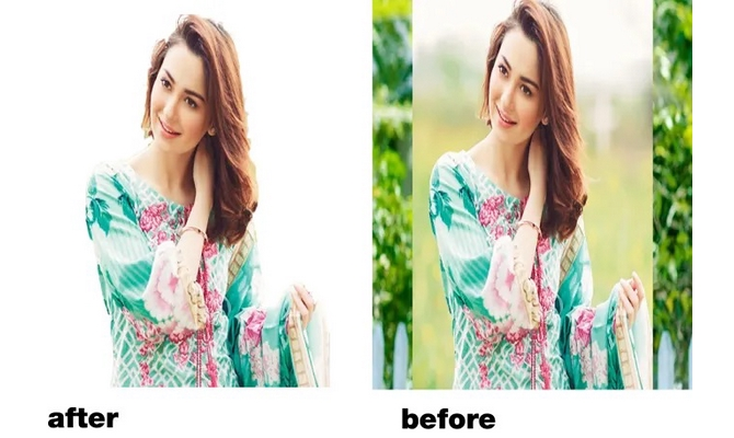 remove background from any images professional