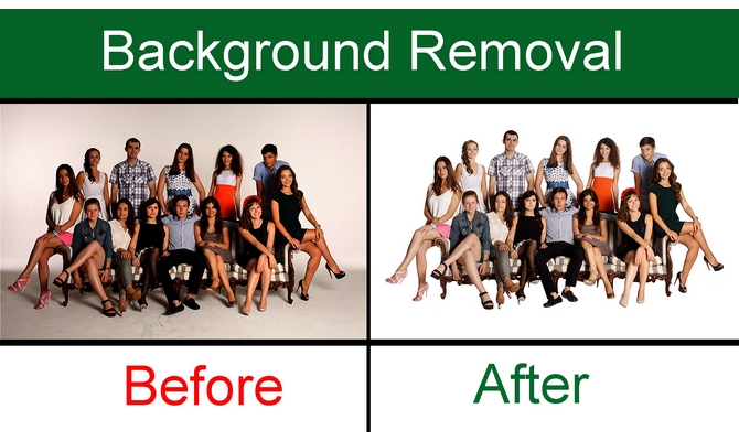 Do Photoshop Background Removal from Image