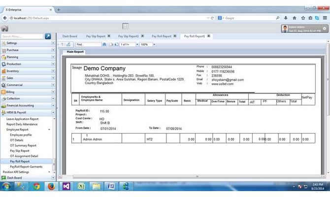 develop web based software
