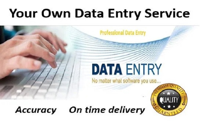 data entry, web research on excel with accuracy