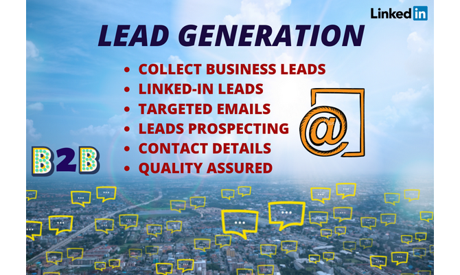 l do targeted b2b LinkedIn lead generation and build email list