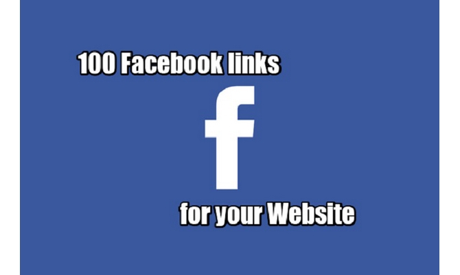 100 Facebook Links For Your Website