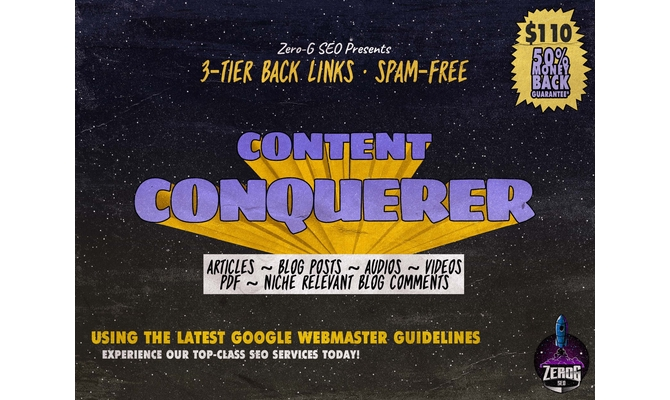 create high quality content based SEO backlinks on any site